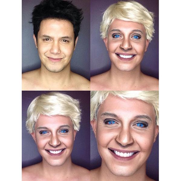 Филиппинский визажист перевоплотился в звезд с помощью макияжа   галерея [1] фото [10]