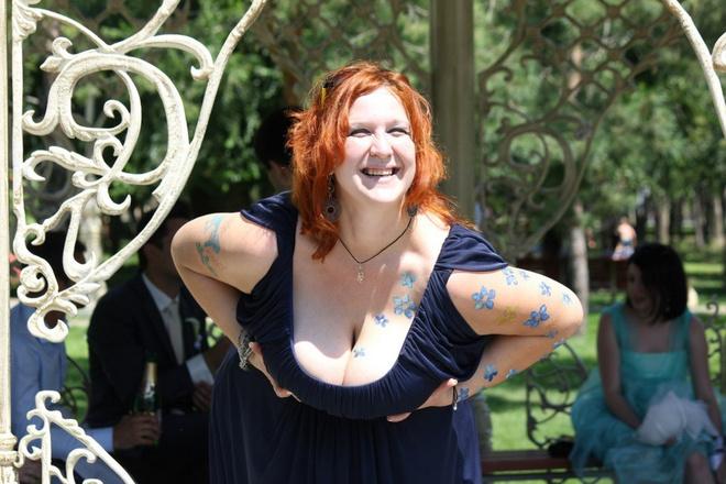 девушки с большой грудью фото