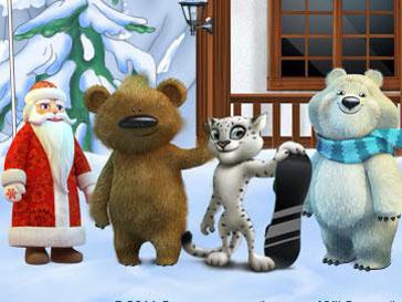 Лидером среди возможных символов Олимпийских игр стал Дед Мороз