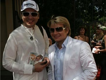Филипп Киркоров и Николай Басков
