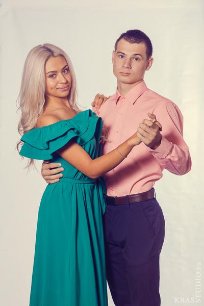 Александр Копанев и Мария Грязнова