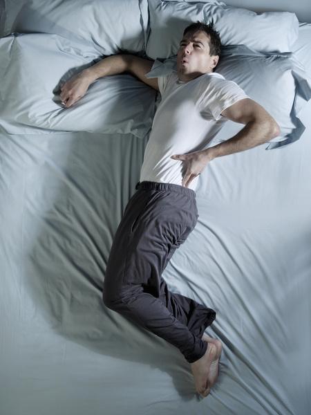 Боль во сне