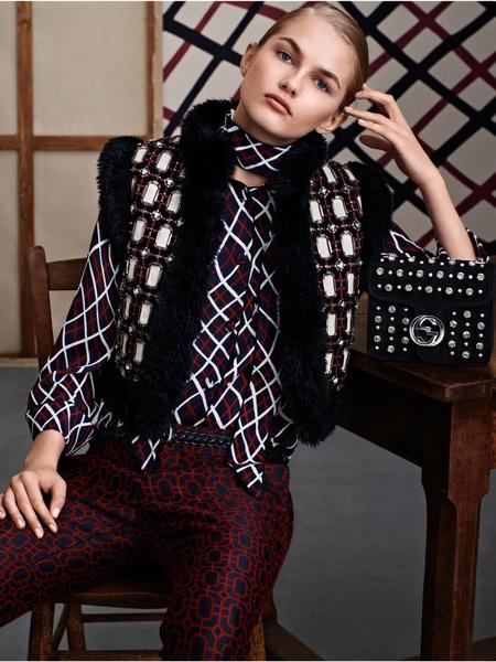Лучшие образы коллекции Gucci Pre-Fall 2015