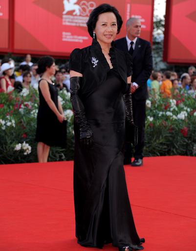 Диана Йип (Deanie Yip) на церемонии закрытия 68-го Венецианского кинофестиваля