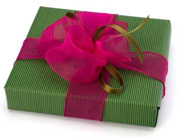 Подарочная упаковка для новогодних подарков