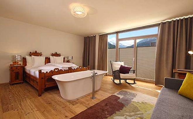 Двухместный номер отеля Bergland