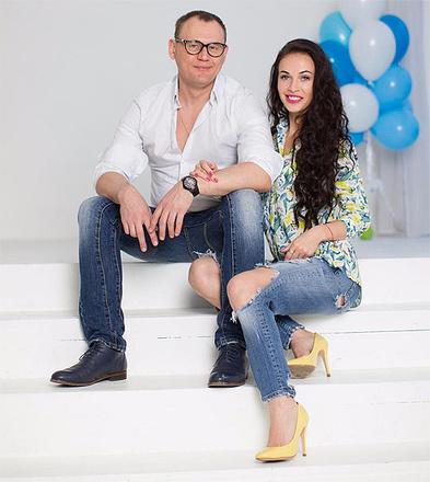 Евгения Меньщикова-Шаманаева и Степан Меньщиков, фото