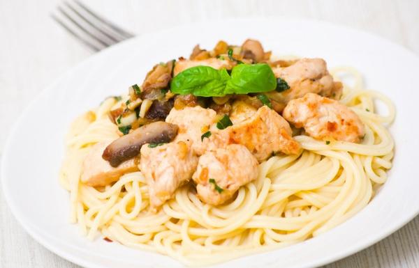 рецепт пасты по-итальянски с грибами