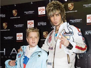 Сергей Зверев с сыном Сергеем