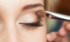 Визуальное увеличение маленьких глаз с помощью макияжа