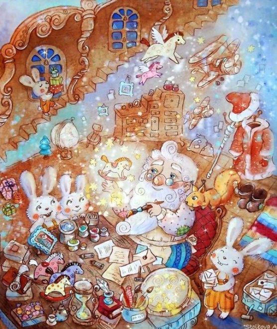 Анастасия Столбова: рисунки