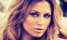 Виктория Боня показала сексуальный макияж