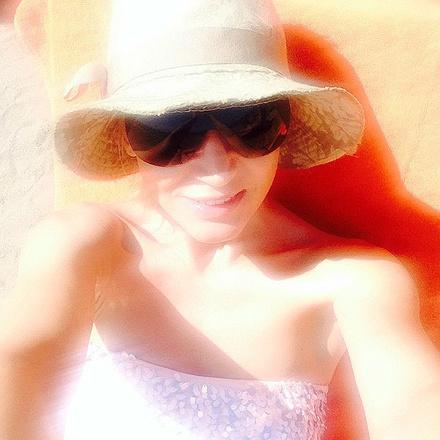 Кристина Орбакайте фото на отдыхе