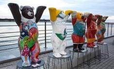 15 способов сфотографироваться с мишками на набережной в Казани
