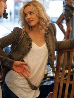 """Рэйчел МакАдамс (Rachel McAdams), кадр из фильма """"Полночь в Париже"""""""