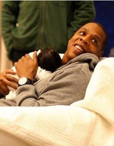 Джей Зи (Jay-Z) с дочкой Блу Айви