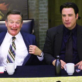 «Мне очень понравилось работать с Джоном – он не боится экспериментировать, – говорит Уильямс о работе с Траволтой. – Он крутой!»