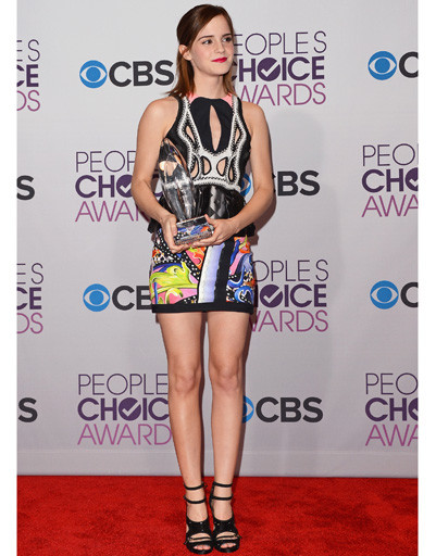 Эмма Уотсон (Emma Watson) на People's Choice Awards 2013