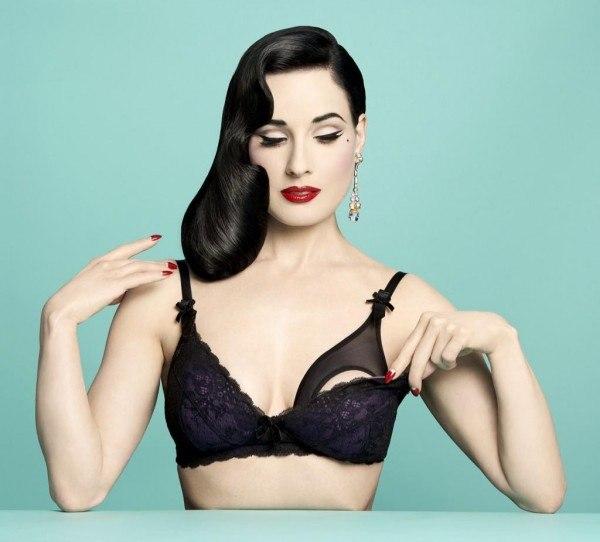 Дита фон Тиз в рекламной кампании новой коллекции