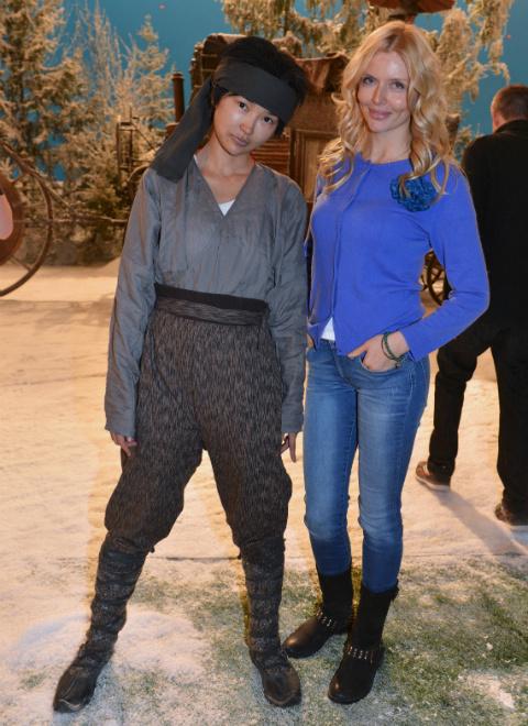 Актрисы Анна Яо и Анна Чурина: фото
