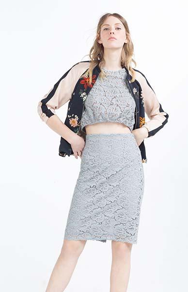 Платье, бомбер Zara, фото