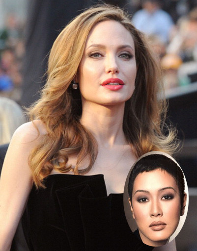 Анджелина Джоли (Angelina Jolie) и Дженни Шимицу