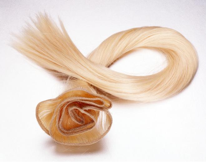 как надевать волосы