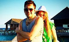 Ирина Дубцова и Леонид Руденко отдыхают на Мальдивах