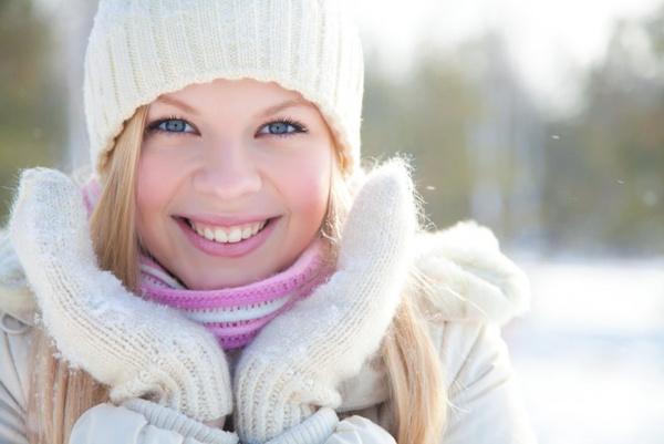 Ухаживать за кожей зимой
