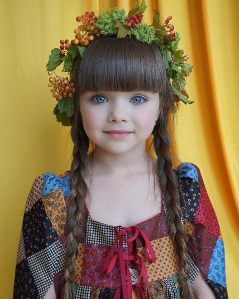 Самая красивая девочка в мире Анастасия Князева