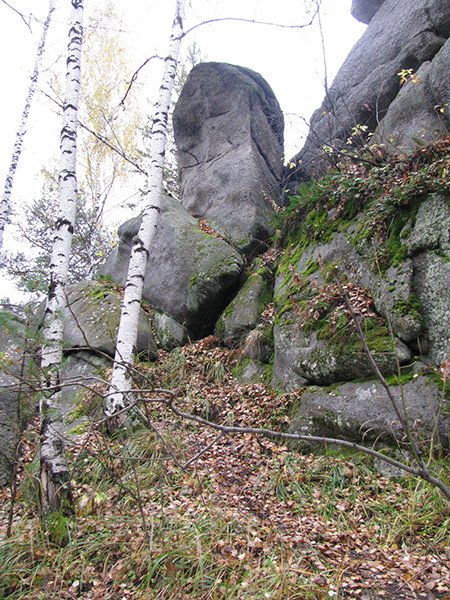 Кырманские скалы, фото