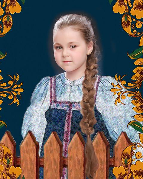 Марина Фрунзе, «Уральская краса – русская коса», фото