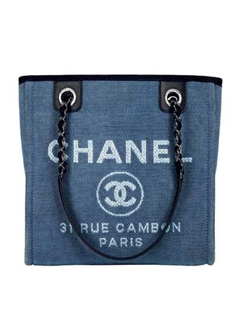 Сумка из хлопка, Chanel, 78 600 руб.