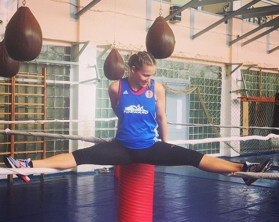 Ирина Серебреникова-Потеева, боксер, фото