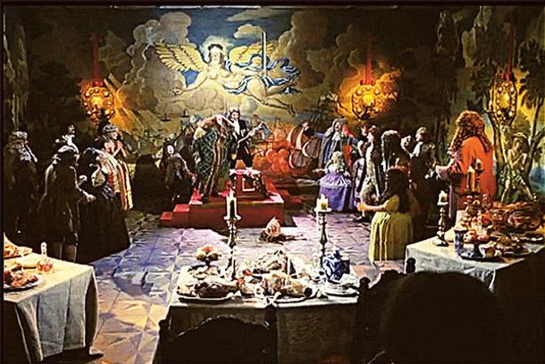 """Сказ про то, как царь Петр арапа женил"": фото"