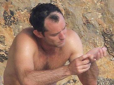 Джуд Лоу (Jude Law) лысеет