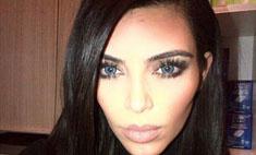 Ким Кардашьян и Канье Уэст изменили цвет глаз