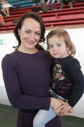 Елена Слесаренко, дочка Елены Лиза