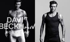 Дэвид Бекхэм разделся в рекламе нижнего белья H&M
