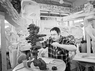 Эрнст Неизвестный, 1974 год