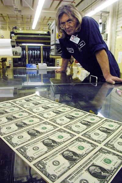 Доллары во сне