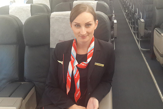 Татьяна Федорова, стюардесса, фото