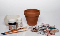Декорируем цветочные горшки: 3 идеи