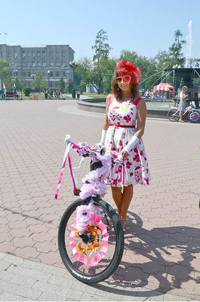 Велопарад в Иркутске