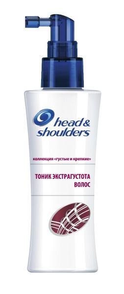 Инновационный тоник «Экстрагустота волос» Head & Shoulders