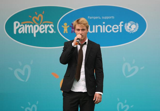Молодой певец и начинающий актер Алексей Воробьев.