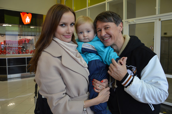 Фото детей и жены сергея ершова