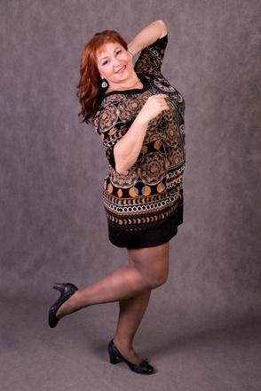 Ольга Раевская, финалистка конкурса «Мисс Пышка-2016»