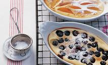Фруктовый пирог клафути