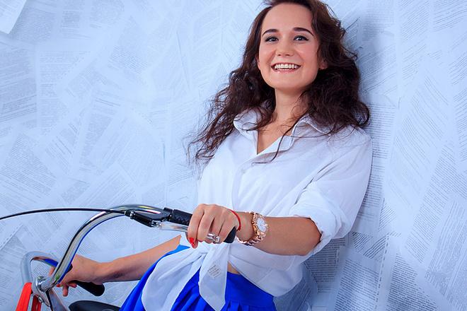 Кристина Каменских, участница «Мисс велогород-2016», фото
